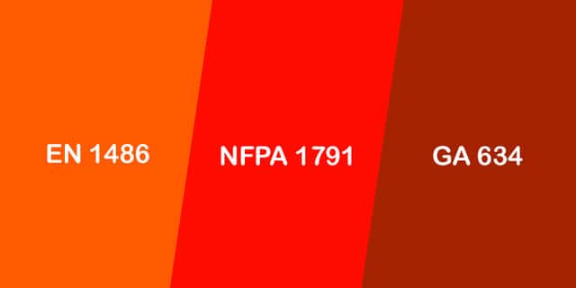 Comparison Between EN 1486, NFPA 1971 And GA 634-2015 Standards
