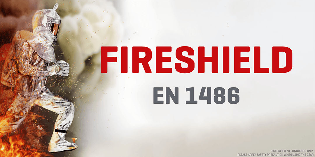 Aluminized Fabric EN1486 Firefighters