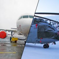Aircraft and helicopter covers
