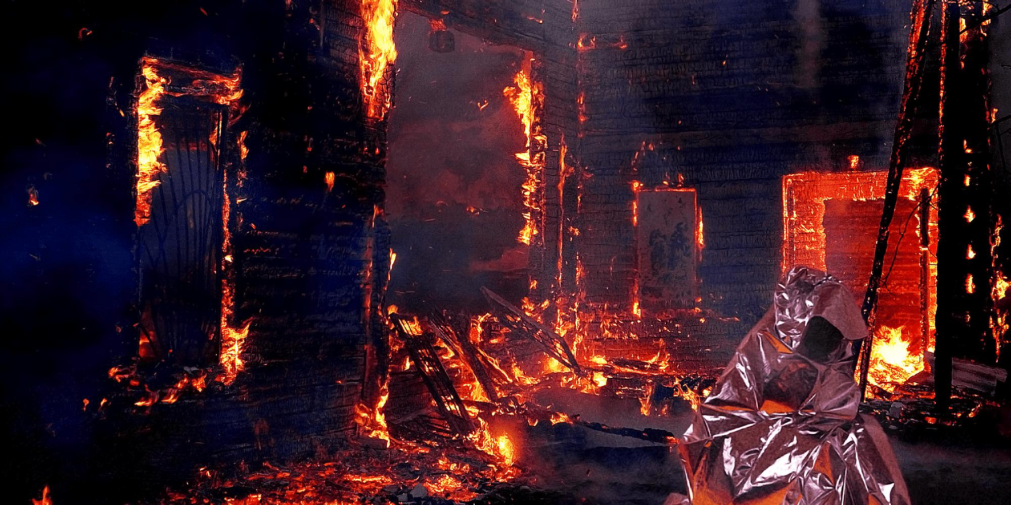 Fire Escape Poncho